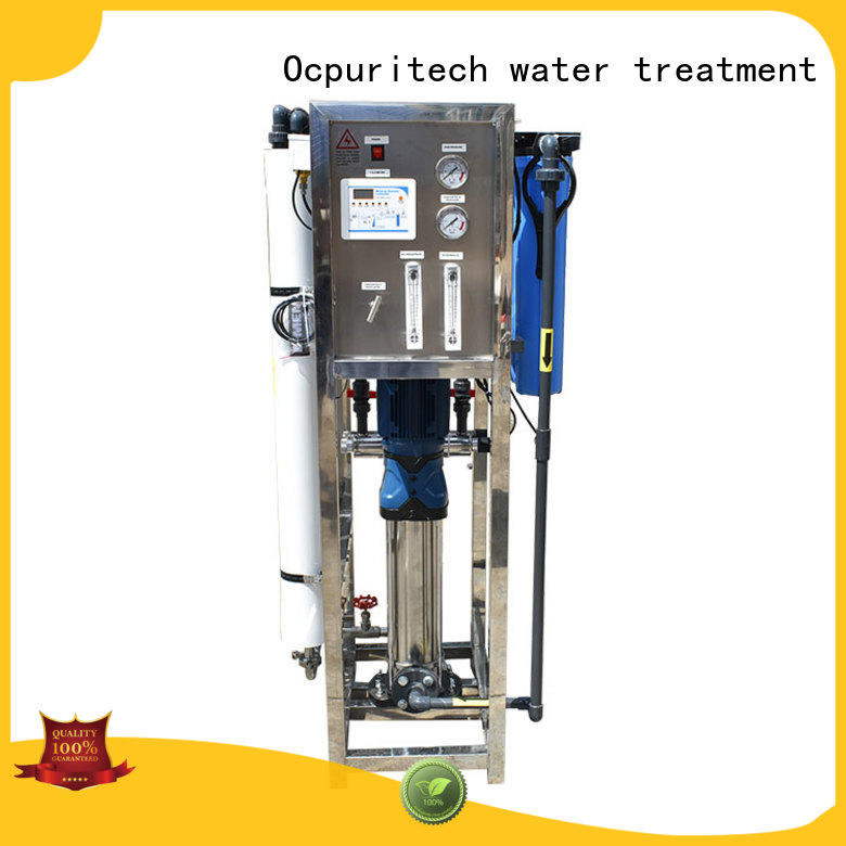Ocpuritech industrial ro water plant supplier for agriculture