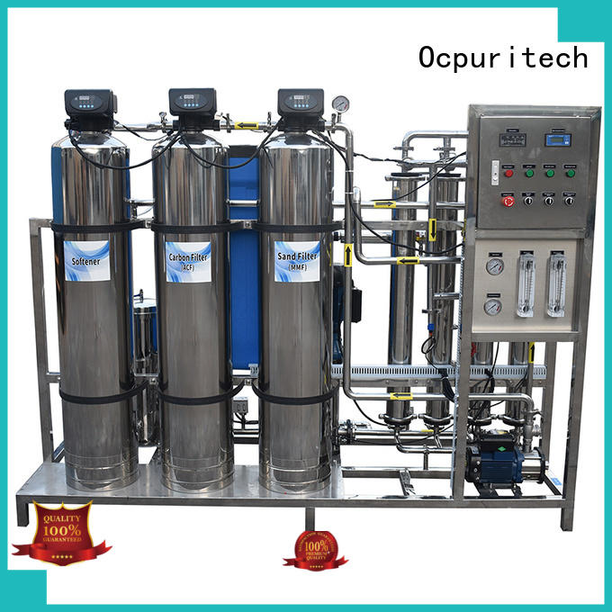 Ocpuritech bed water treatment systems customized for factory