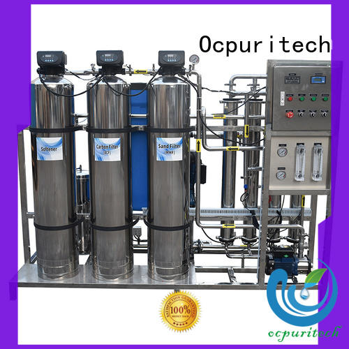 Ocpuritech 500lph industrial water treatment systems manufacturers from China for industry