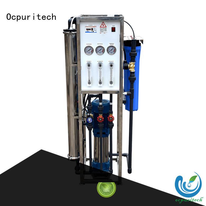 purifier reverse osmosis water filtration 250liter Fivestar Hotel Ocpuritech