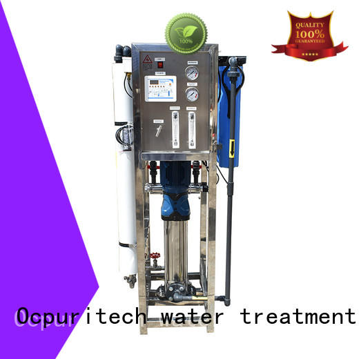 Ocpuritech commercial mineral water plant supplier for agriculture