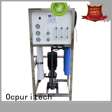 reliable mobile water treatment plant personalized for agriculture Ocpuritech
