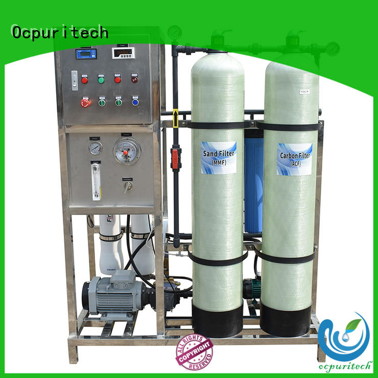 Ocpuritech plant water desalination from China for factory