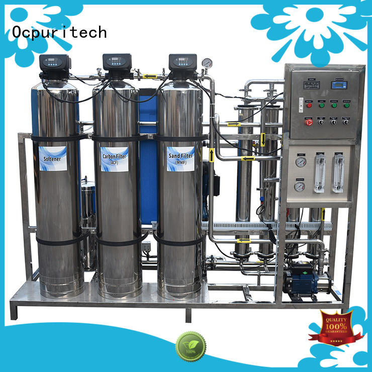 500lph water purification company manufacturer for chemical industry