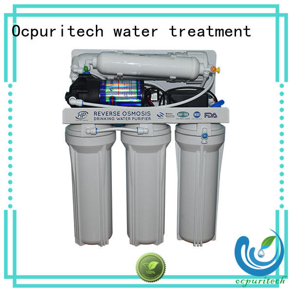 Ocpuritech commercial ro water system supply for chemical industry