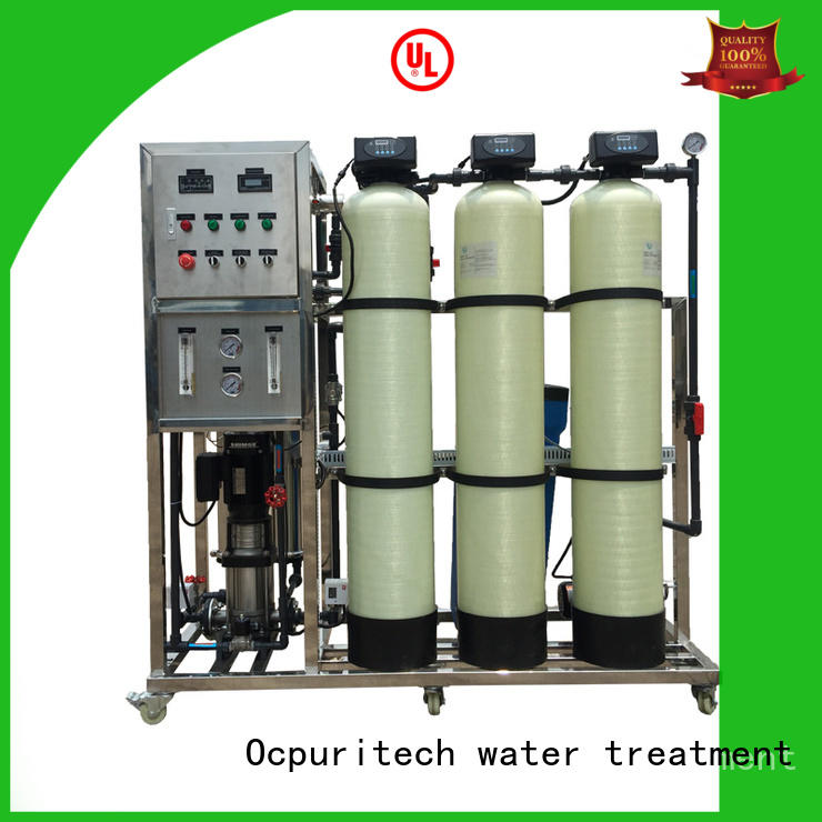 Ocpuritech industrial ro system for home wholesale for food industry