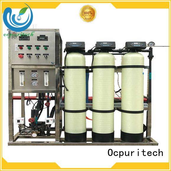 purification ro machine filtration water Ocpuritech company