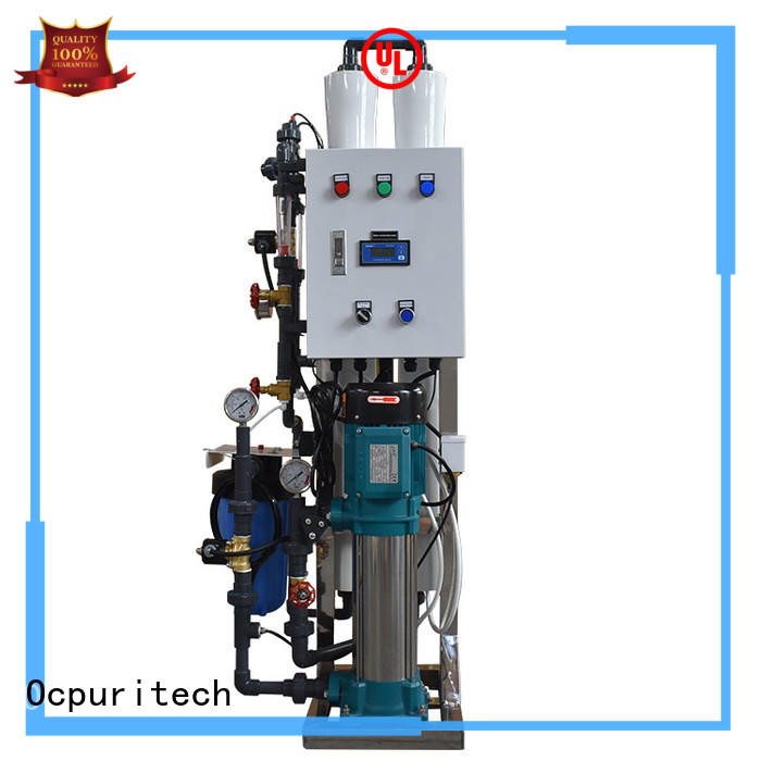 Ocpuritech stable ro machine factory price for agriculture