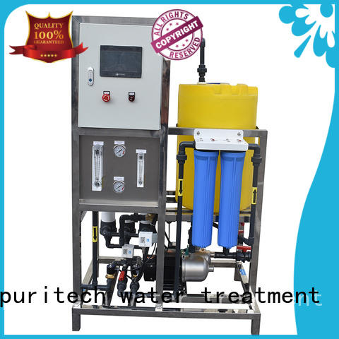 Ocpuritech 500lph ultra filtration system personalized for food industry