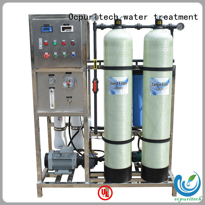 Ocpuritech sea water treatment system companies from China for chemical industry