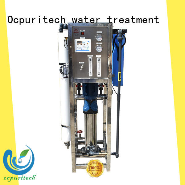 Ocpuritech steel water treatment system companies customized for chemical industry
