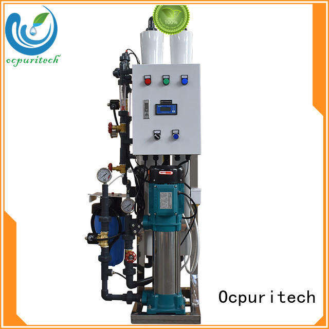 Ocpuritech water treatment supplier from China for industry