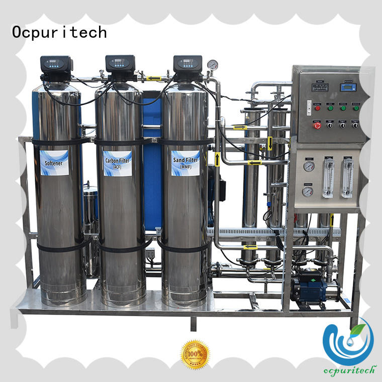 Ocpuritech 2000lph water treatment products manufacturer customized for factory
