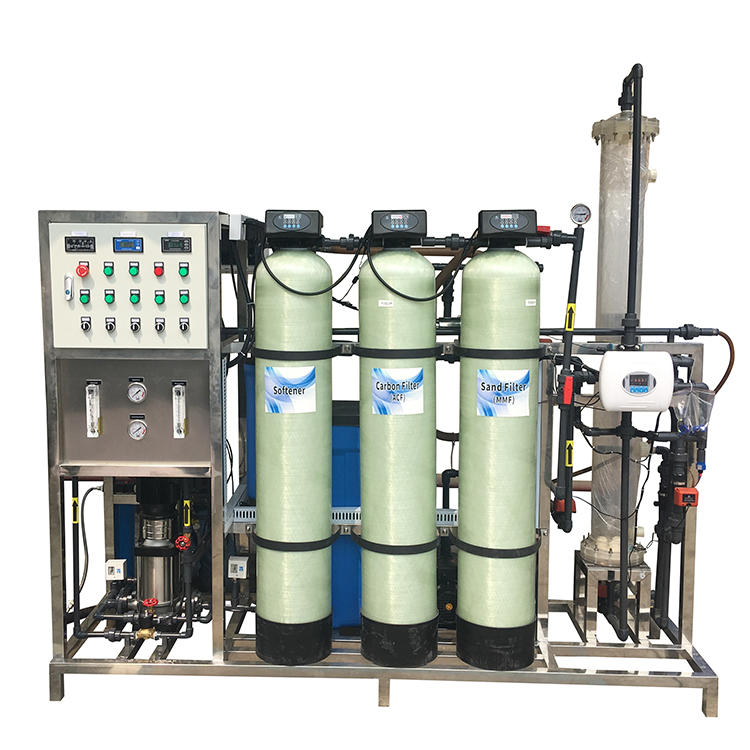 Ion Exchange Mixed Bed Water Purification Systems Plant