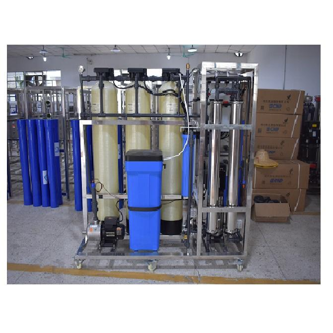 500lph Remote Control Ro Monitoring Water Treatment Purification Plant Filtration Reverse Osmosis Systems Solutions Machine