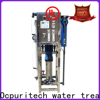 Ocpuritech manual reverse osmosis water filter for business for food industry