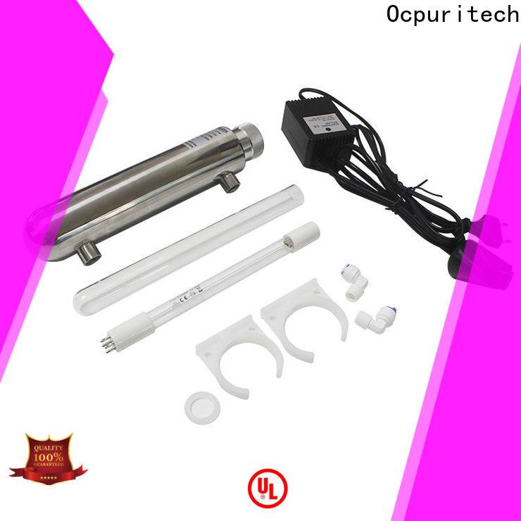 Ocpuritech 6w55w uv sterilizer suppliers for industry