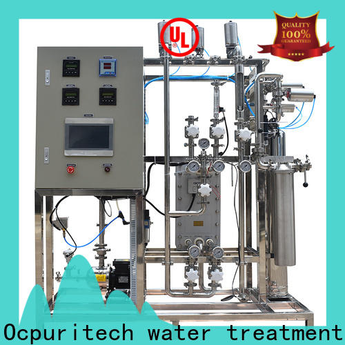 best electrodeionization water treatment treatment factory price for seawater