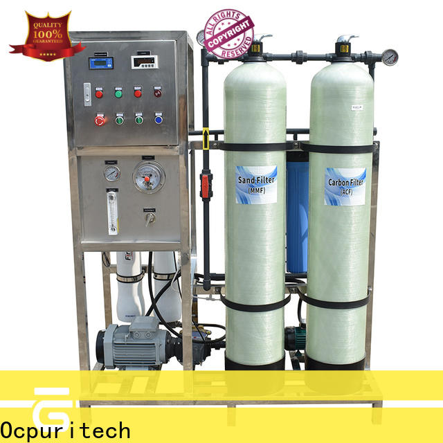 4000lph pure water treatment plant desalination factory for chemical industry