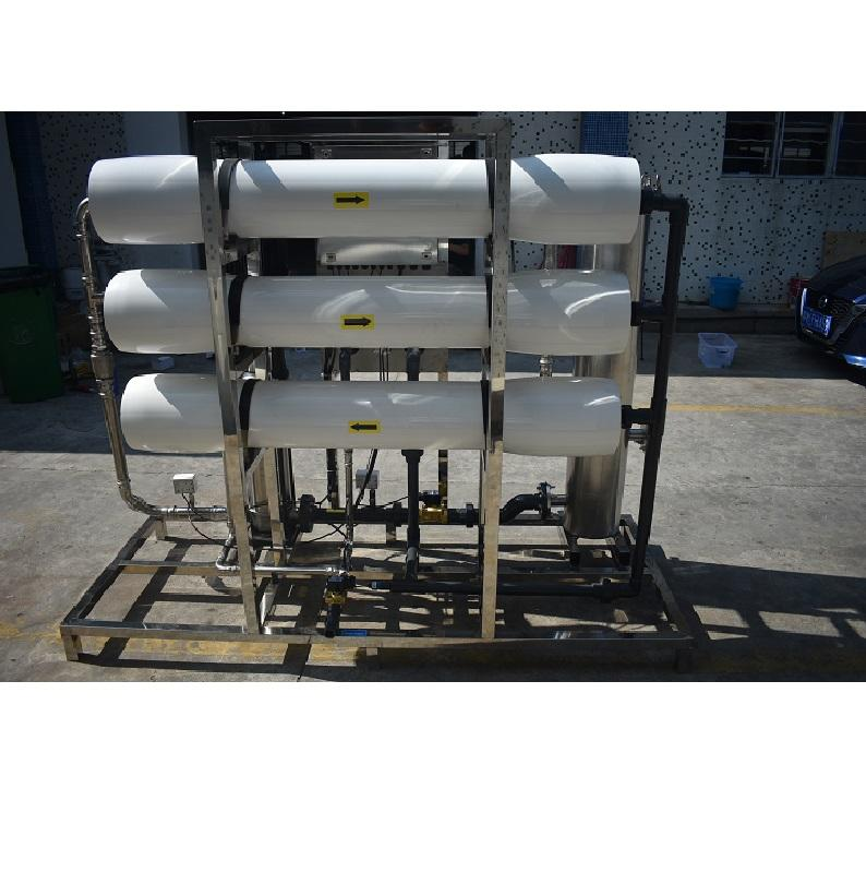 3000lph Big Ro System Industrial Water Treatment Purifier Filter Plant Price Reverse Osmosis Filtration Purification Equipment