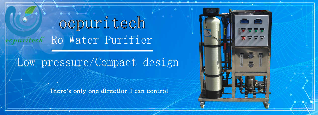 product-Ocpuritech-125lph Industrial Ro System Small Water Treatment Plant Purification For Reverse
