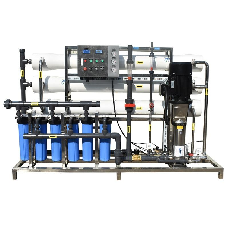6000 Lph Large Systems Ro Plant Price Water Treatment Purifier Reverse Osmosisfilter For Industrial Parts Ro With Well Machine