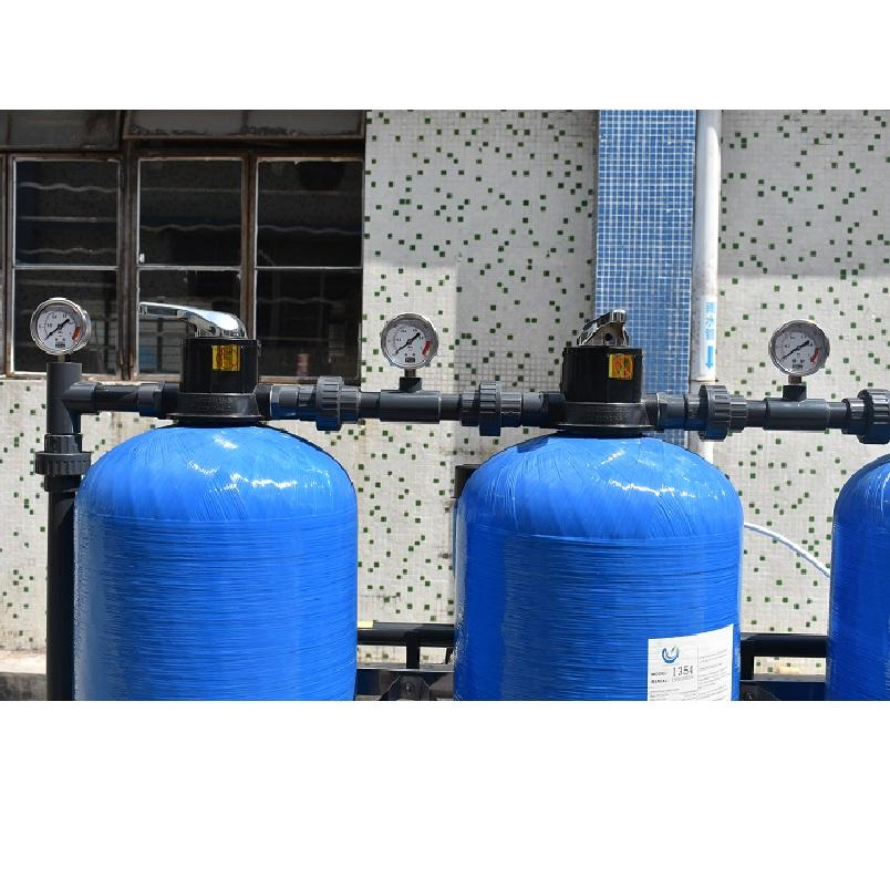 1000 Ltr Liters Industrial Ro Water Treatment Sand Filter Plant Price Best Purification Manual Equipment Purifier For Machine
