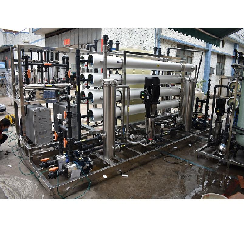 7.5tph Industrial Big Best Ro System Water Treatment And Purifier Filter Price Of Reverse Osmosis Purified Filtration Cost Plant