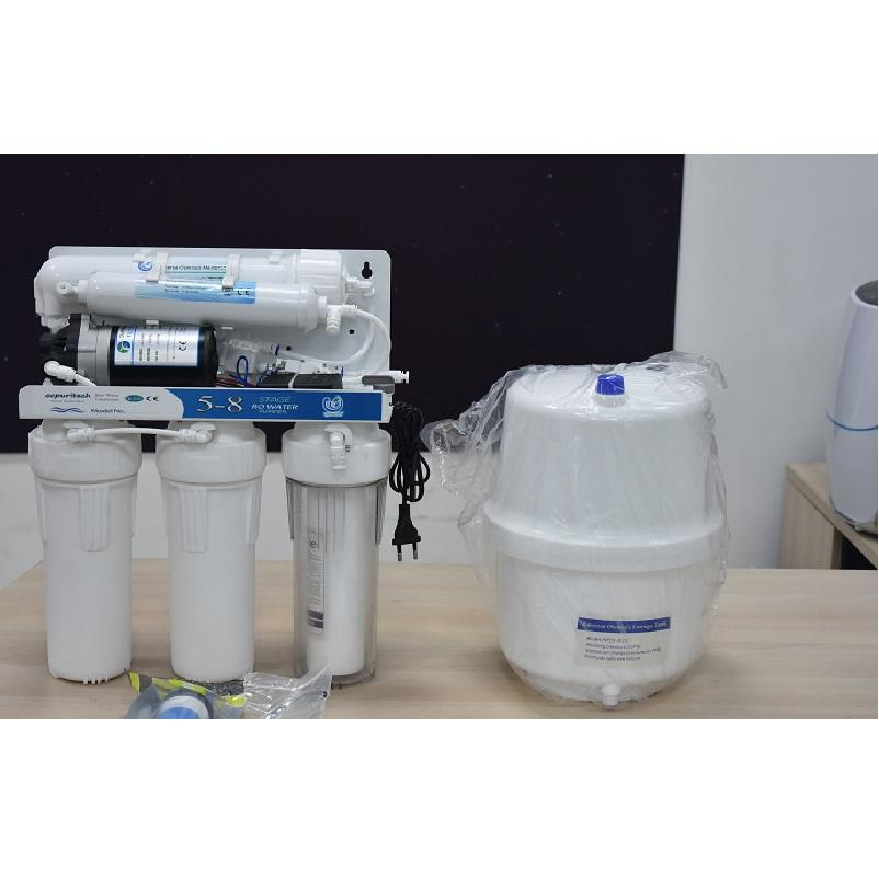 5 Stage UV Ro Water Under Sink Domestic Best Purifier System Plant Mini Filter China Supply Reverse Osmosis Home Electric Ce