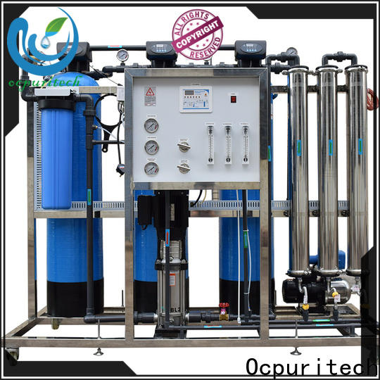 Ocpuritech 500lph ro water system supply for seawater