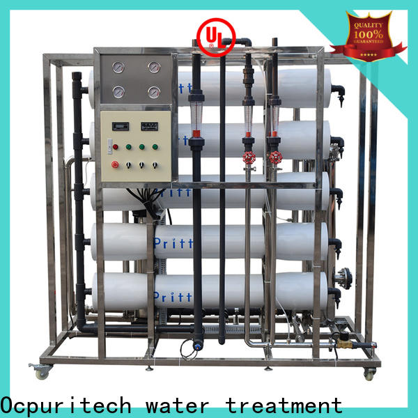 top ro water plant equipment company for food industry