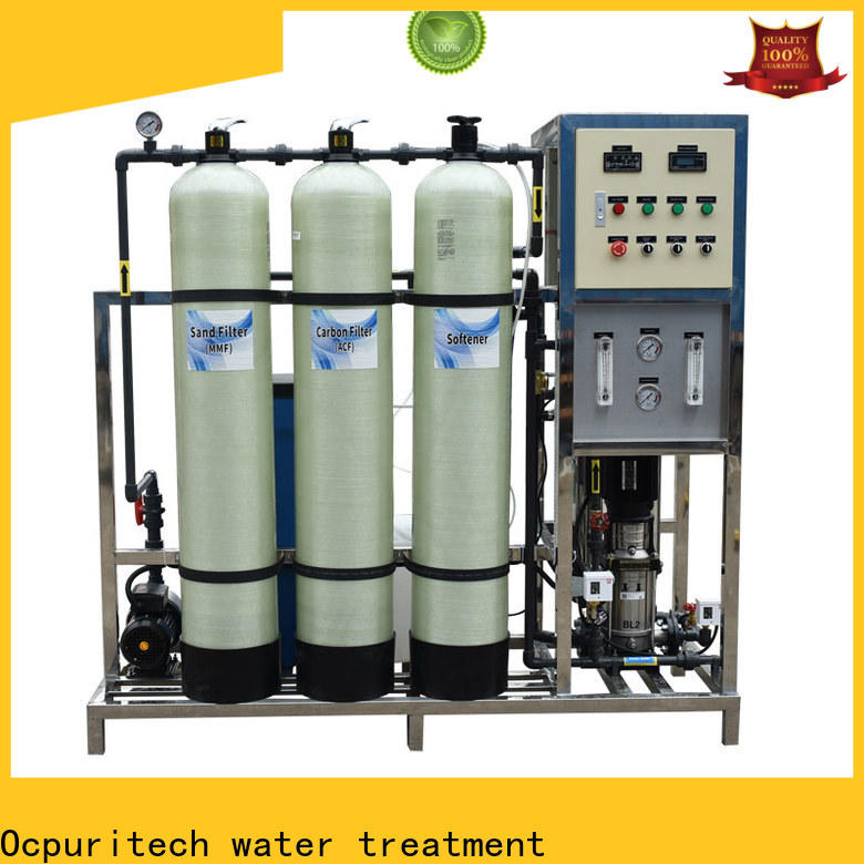 Ocpuritech high-quality reverse osmosis unit supply for seawater
