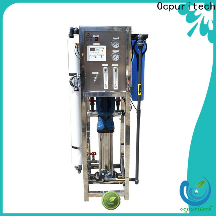 industrial pure water treatment plant osmosis series for factory