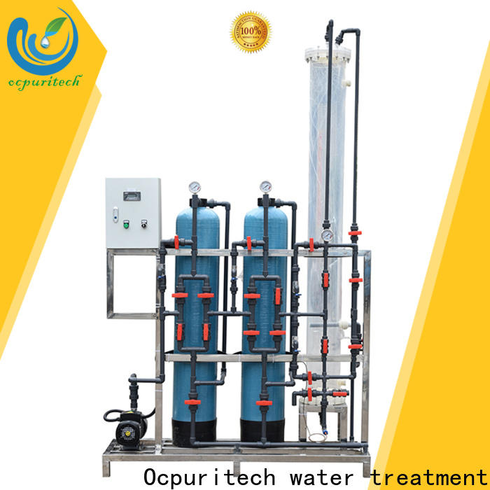 Ocpuritech 3000lph water purification unit manufacturer for industry