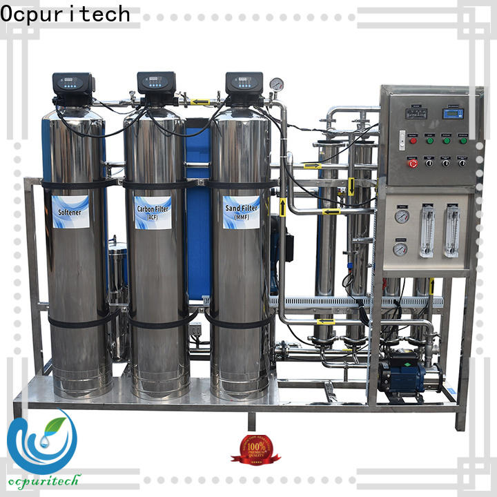 Ocpuritech 750lph reverse osmosis system cost company for seawater