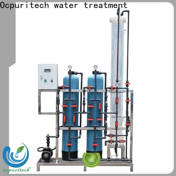 Ocpuritech industrial deionized water filtration system for medicine