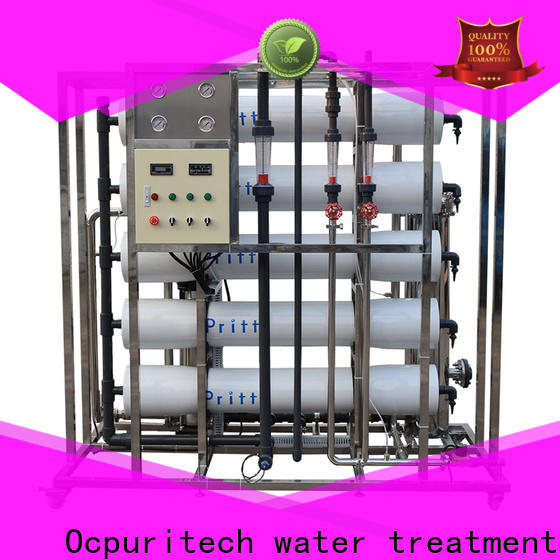 Ocpuritech top reverse osmosis machine supplier for food industry