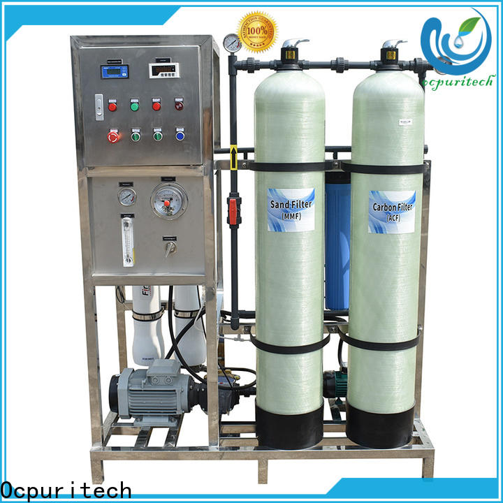 Ocpuritech exchange water purification unit for industry