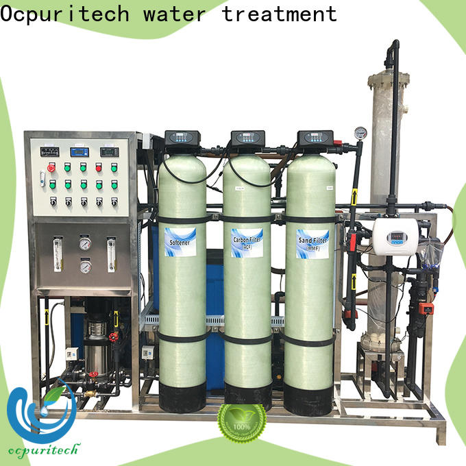 Ocpuritech 3000lph pure water treatment plant suppliers for factory