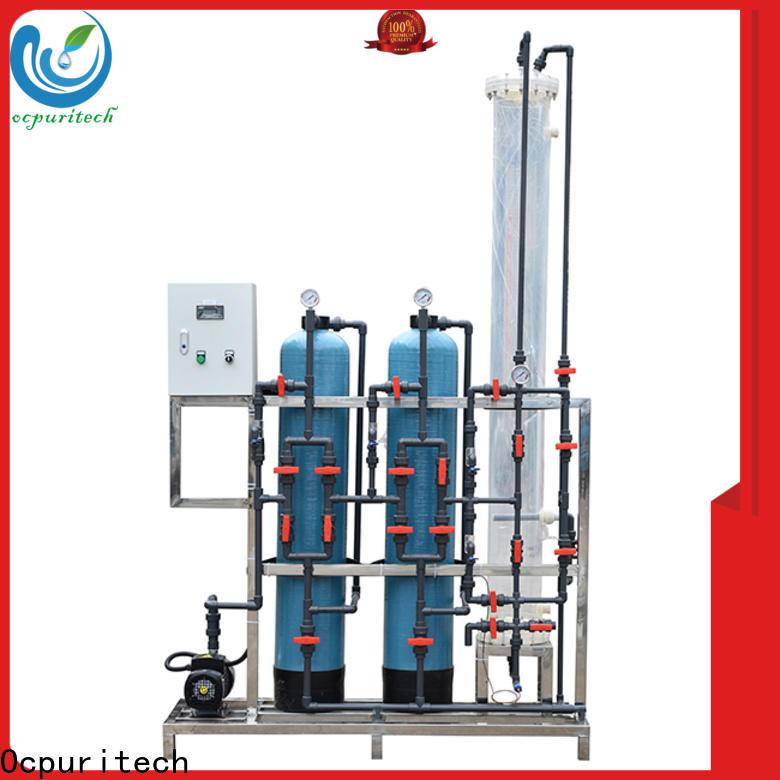 Ocpuritech deionized water treatment systems manufacturers for chemical industry