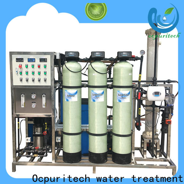 Ocpuritech quality deionized water filtration system design for business