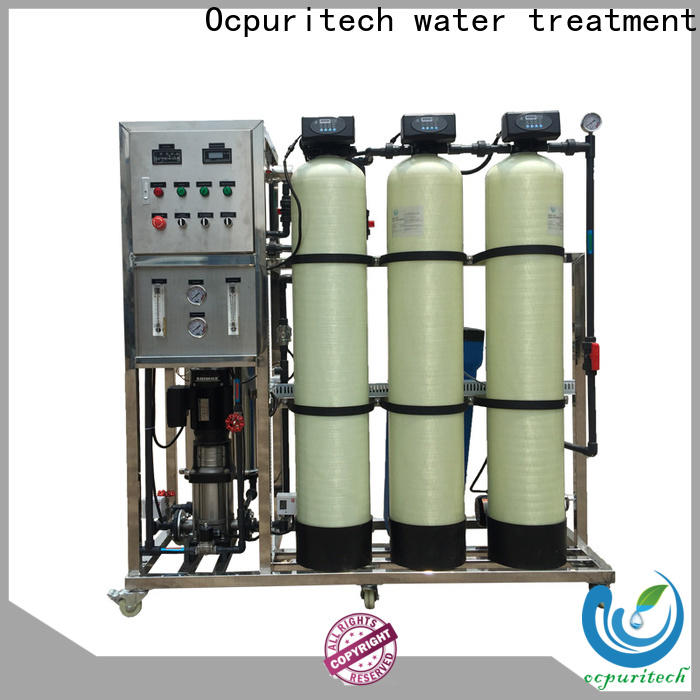 Ocpuritech reliable reverse osmosis filter factory price for seawater