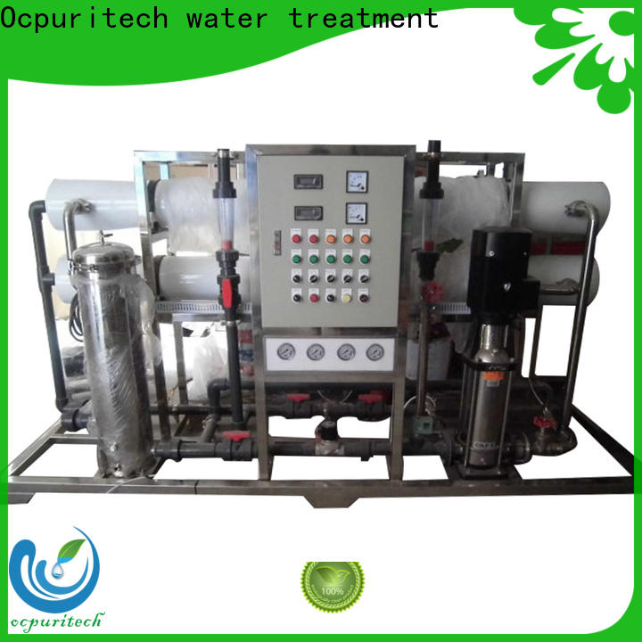 Ocpuritech mineral industrial reverse osmosis system factory price for seawater