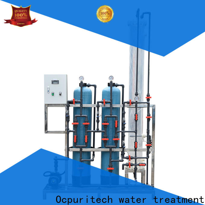 Ocpuritech 500lph water treatment systems manufacturers for chemical industry