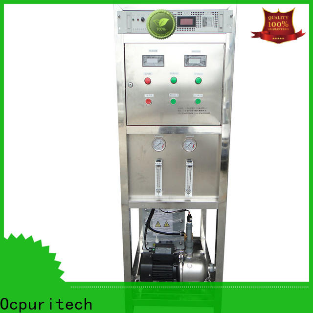 Ocpuritech commercial edi water system personalized for food industry