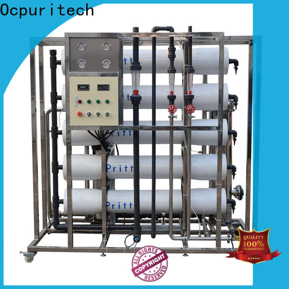 Ocpuritech mineral ro water system for food industry