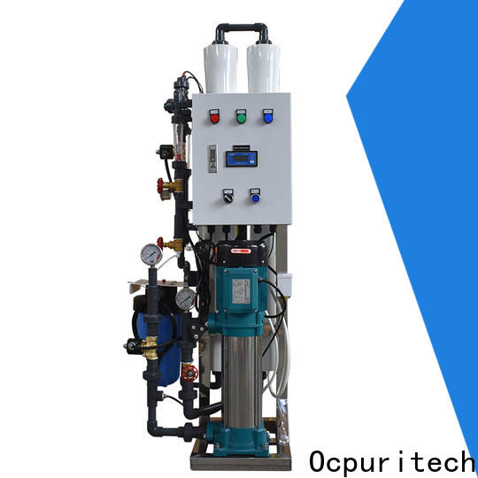 Ocpuritech 3000lph pure water treatment plant manufacturer for chemical industry