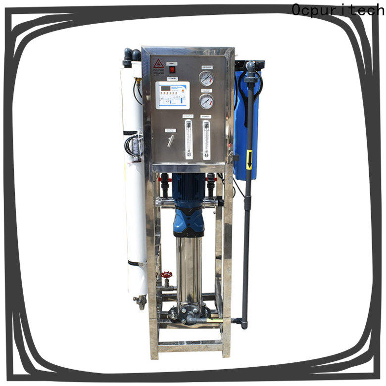 Ocpuritech industrial pure water treatment plant series for factory