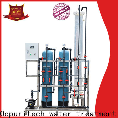 Ocpuritech latest deionized water filtration system design for business