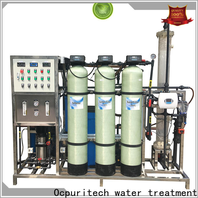 Ocpuritech bed deionized water system design for medicine